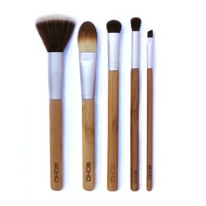 New Soho Naturals set 5 Makeup brushes